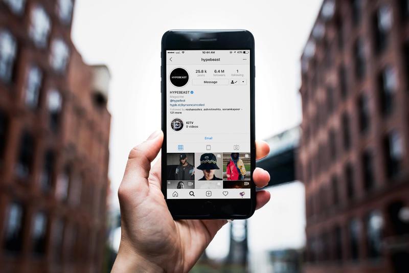 private Instagram profile
